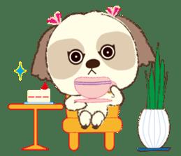 Shih Tzu Marlon daily life sticker sticker #993762
