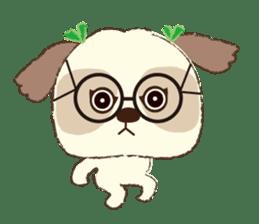 Shih Tzu Marlon daily life sticker sticker #993765