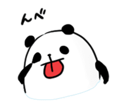 fatty panda sticker #994376