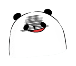 fatty panda sticker #994388
