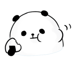 fatty panda sticker #994403