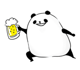 fatty panda sticker #994405