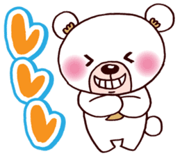 The daily life of the bear. sticker #995110