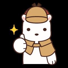 White bear detective