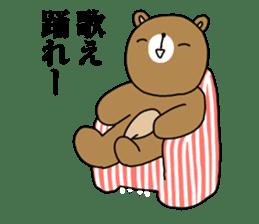 Bear cub sticker sticker #997566