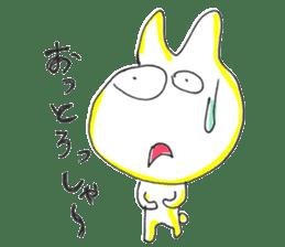 Uozu dialect Toyama prefecture in Japan sticker #998538