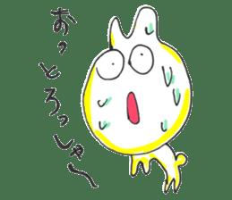 Uozu dialect Toyama prefecture in Japan sticker #998544