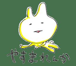 Uozu dialect Toyama prefecture in Japan sticker #998547
