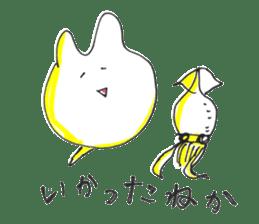 Uozu dialect Toyama prefecture in Japan sticker #998555