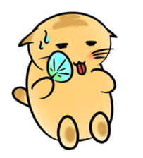 omega cat sticker #998702