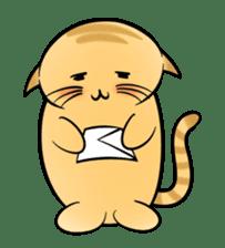 omega cat sticker #998723