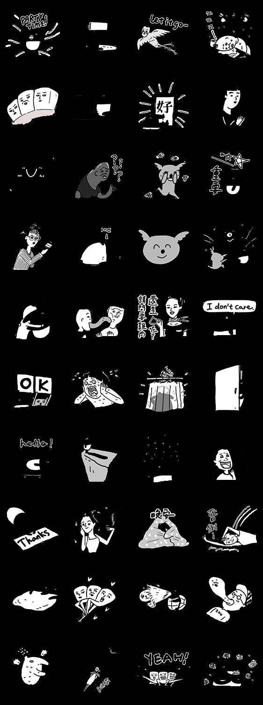 สติ๊กเกอร์ไลน์ LAIMO IS BACK:The 5th Stickers of Cherng