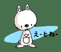 Life sticker moody Usa-kun sticker #998980