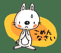 Life sticker moody Usa-kun sticker #998986