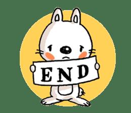 Life sticker moody Usa-kun sticker #998988