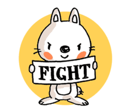 Life sticker moody Usa-kun sticker #998989