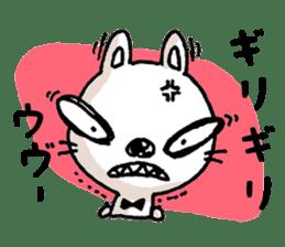 Life sticker moody Usa-kun sticker #998992