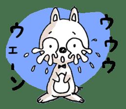Life sticker moody Usa-kun sticker #998997