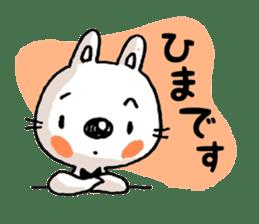 Life sticker moody Usa-kun sticker #999000