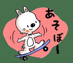 Life sticker moody Usa-kun sticker #999001