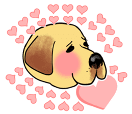 It is a Labrador sticker #1001530