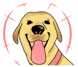 It is a Labrador sticker #1001544