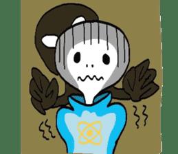 Alien Tarou sticker #1003534