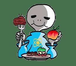 Alien Tarou sticker #1003538