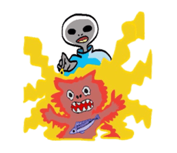 Alien Tarou sticker #1003542