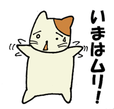 Impossible cat sticker #1005001