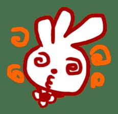 The 3-ear-flowered BUN sticker #1005836
