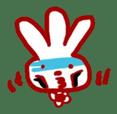 The 3-ear-flowered BUN sticker #1005838