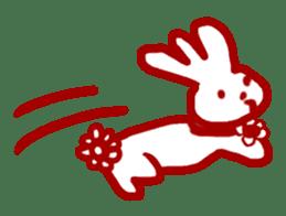 The 3-ear-flowered BUN sticker #1005841