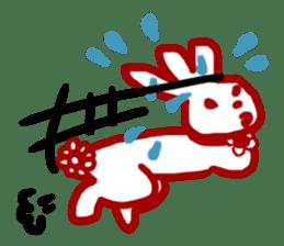 The 3-ear-flowered BUN sticker #1005842