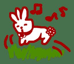 The 3-ear-flowered BUN sticker #1005843