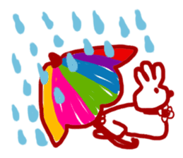 The 3-ear-flowered BUN sticker #1005844