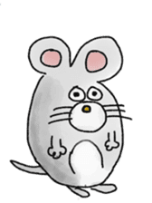 mouse sticker #1005887