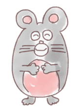 mouse sticker #1005888