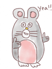 mouse sticker #1005889