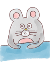 mouse sticker #1005890