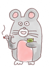 mouse sticker #1005893