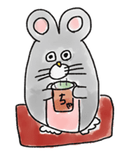 mouse sticker #1005897