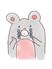 mouse sticker #1005901