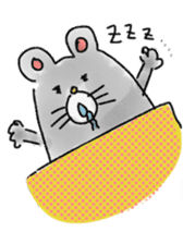 mouse sticker #1005908