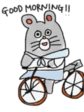 mouse sticker #1005911