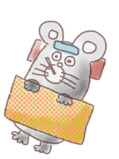 mouse sticker #1005919