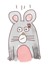 mouse sticker #1005921