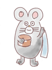 mouse sticker #1005925