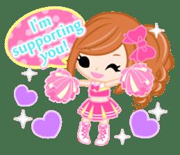 Support stickers-English- sticker #1006130