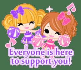 Support stickers-English- sticker #1006145